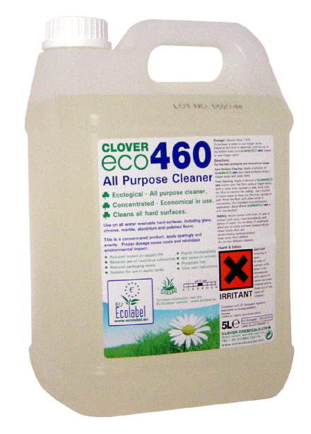 Clover Eco 460 5L - All Purpose Cleaner